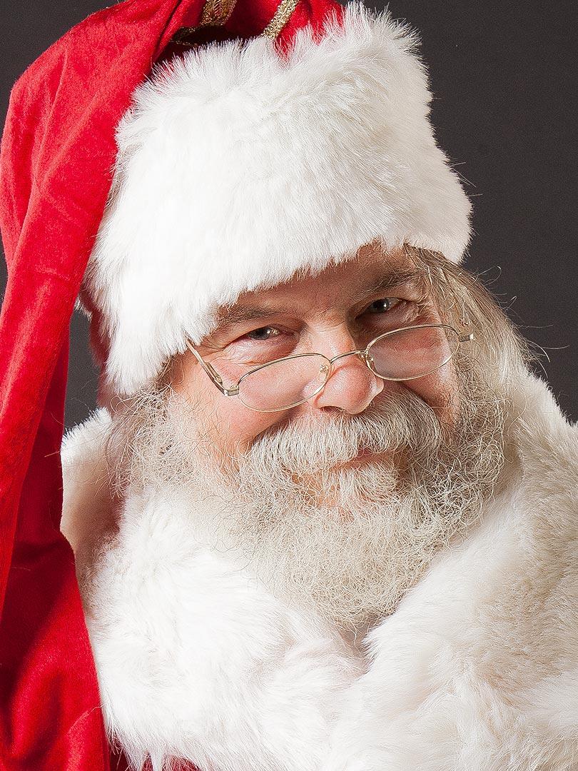 Porträt Weihnachtsmann Eckhard