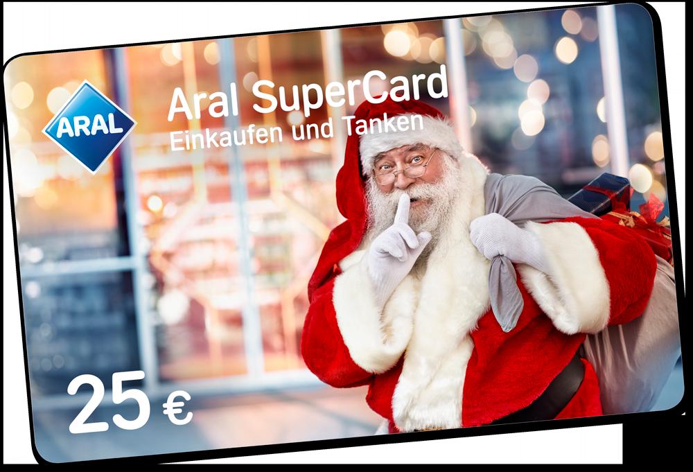 Premium-Weihnachtsmann Michael für ARAL